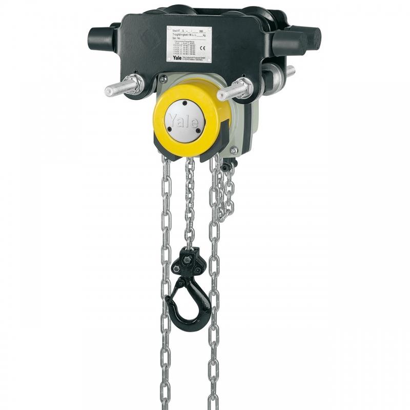 Zdjęcie / YL  ITP 5000B-Wciągnik łańcuchowy z napędem ręcznym ze zintegrowanym wózkiem pchanym