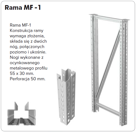 Rama stołu warsztatowego MASTER MF-1